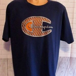 Champion Big C Logo Short Sleeves T-Shirt Size XL